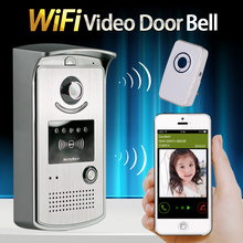 Wireless Video Door Phone Wifi 3G 4G Doorbell Camera +Indoor Bell Wifi Intercom IP door bell camera for Smartphone