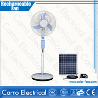 Hot sell new model 12v 15w 16inch charging fan price electric charging fan