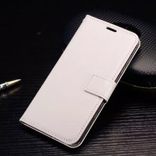 Factory price white blank hand kutis flip wallet leather cover phone case for HTC mobile phone