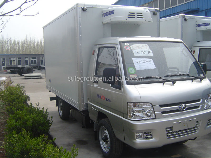 hot selling mini refrigerated truck