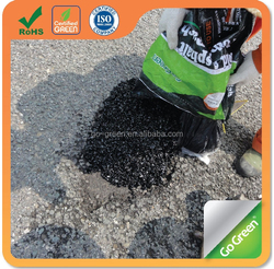 Driveway pothole repair / all weather to use cold asphalt / backfilling asphalt
