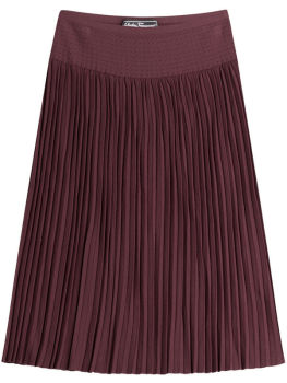 summer pleated skirt OEM mid- long dresses Bohemian fashion chiffon skirts