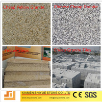 Cheap Color Granite Stone G682 Rusty Paving Panel Tiles