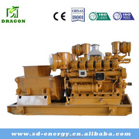 World famous brand strong power CHP 400kw biomass generating set