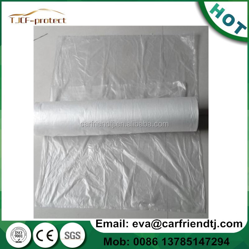 Automotive spraying painting disposable auto plastic seat covers 250 per roll