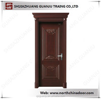 Main Door Design Solid Wood Entry Door Mahogany Solid Wood Door