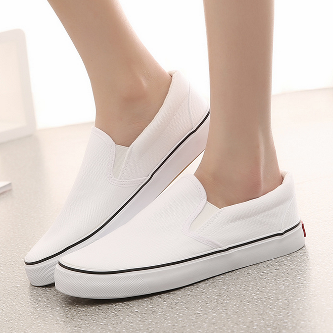 w71672g 2016 new style shoes blank white canvas