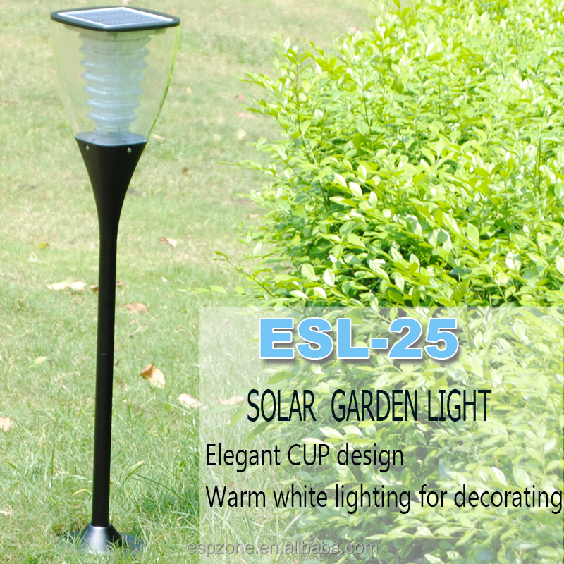 Antique Outdoor Classic Solar Led Garden Light With Solar Energy