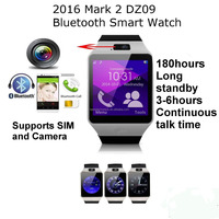 Factory direct sales Bluetooth New Design DZ09 Smart Watch For Android HTC Samsung iPhone iOS Camera SIM Slot