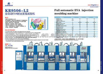EVA injection mouding machine