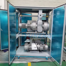 Two Stage Vacuum Pump Set Vacuum Forming Machine for Transformers, Reactors
