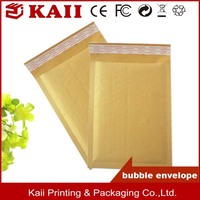 brown kraft paper express bubble mailer padded envelop
