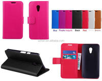 Brand New for Motorola Moto G2 XT1063 Lychee PU Leather Wallet case,stand cover with credit card slots/money pocket
