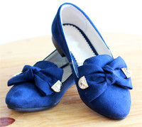 latest style children flat party shoes for girls