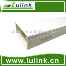 2550 PVC cable trunking PVC wire duct 50x25 MM