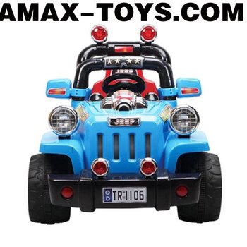 RR-1861106 Ride on car Children remote control off-road ride on car with double storage batteries and motors
