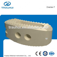 TLIF Peek Fusion Cage 12*30 Titanium Mesh Orthopedic Spine implants Fusion device for thoracic lumbar cervical fixation Coales