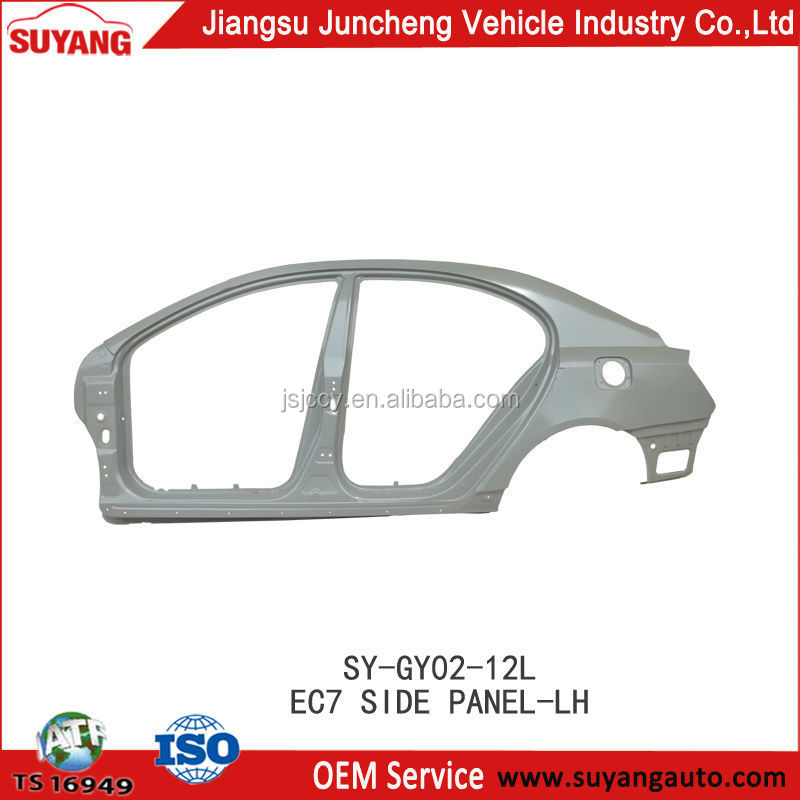 Replacement Car Side Panel For Geely Emgrand Ec7 Parts