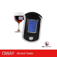 Digital breath alcohol tester drive safety