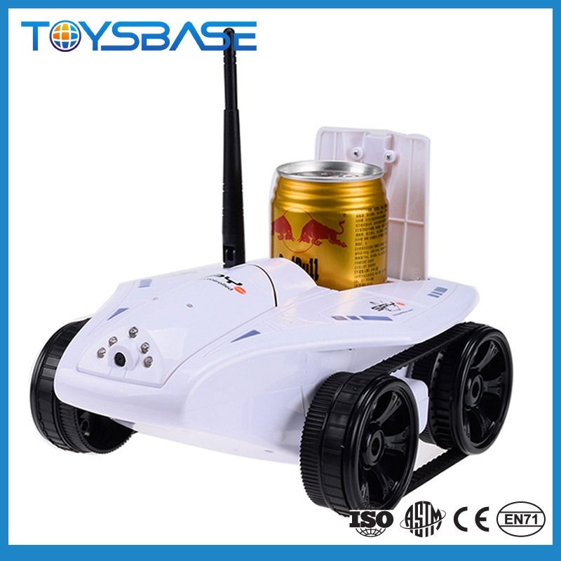 Flip Chassis Spy Video Iphone Wifi Remote Control Car with Camera
