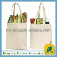 Promotional 100 Cotton Canvas Tote Bags, MJ-C0006-Y, China Manufacturer