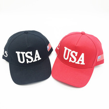 Wholesale custom cheap 5 panel embroidery logo election promotional hat and cap