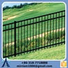 2015 1500*2400mm 3 rails antique wrought iron fence, decorative wrought iron fence, garden supplies