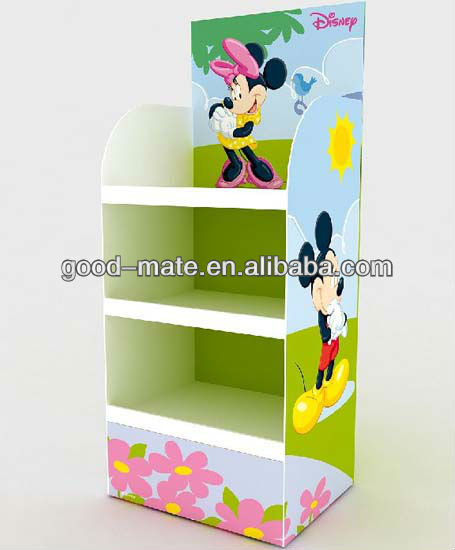 Names of Clothing Stores Display Stands Corrugated Cardboard Display Shelf