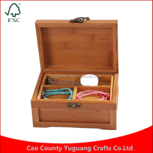 Customize Classic and Elegant Wooden Jewelry Box Sundries Makeup Organizer