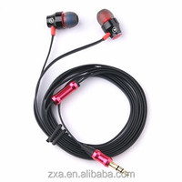 Hotsale China luminous headset, Handsfree metal earphone shenzhen factory price.