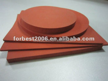 Red Silicone sponge sheet,Silicone rubber plate,silicone foam sheet