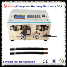 wire cutting and stripping machine cable making equipment cheap wire stripping machine
