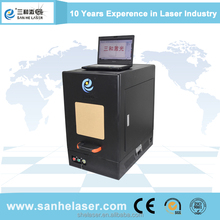New design portable fiber laser engraving and cutting machine for metal