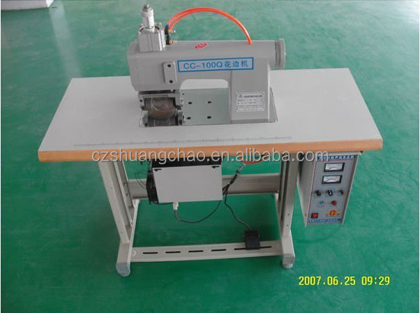 CSU-786 Ultrasonic non woven fabric bag making machine