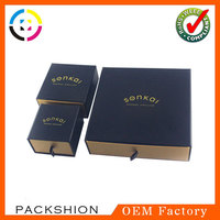 2014 China top export paper jewelry box packaging with custom logo