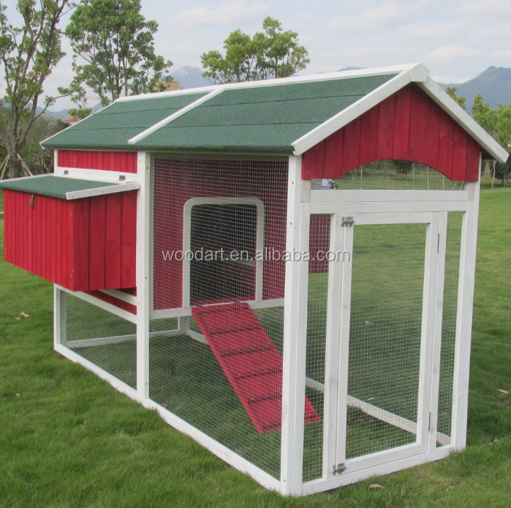 large animal cages for sale wooden waterproof chicken coop with large run