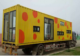 Steel Container Movable House Prefab House