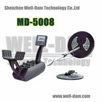 Partable Treasure Seeking Mineral Underground Gold Metal Detector MD5008 for Gold Nuggets
