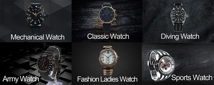 Hot New Products Stainless Steel Classic Watches For Women
