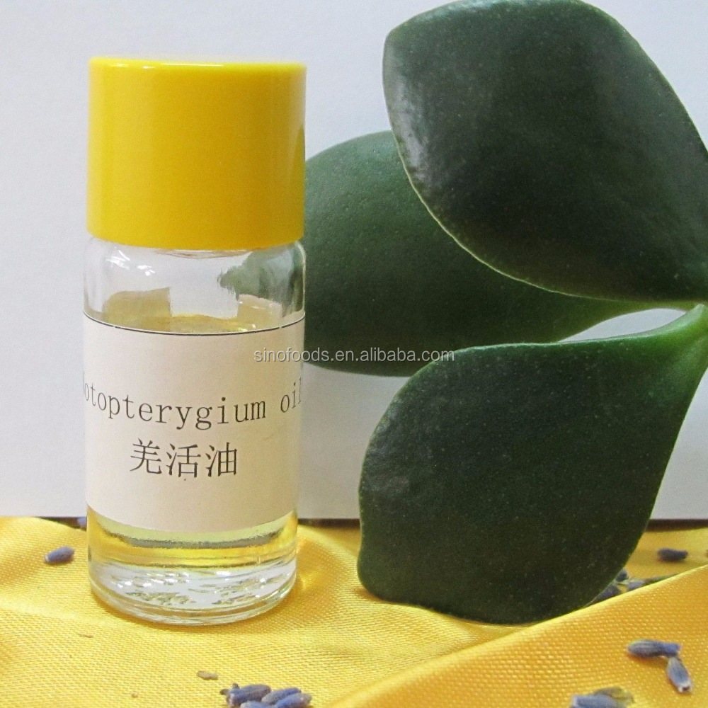 Qiang Huo Pure And Natural Notopterygium Root Oil For Medicine Grade