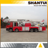 Fire fighting truck, SHANTUI 54m Aerial platform DG54