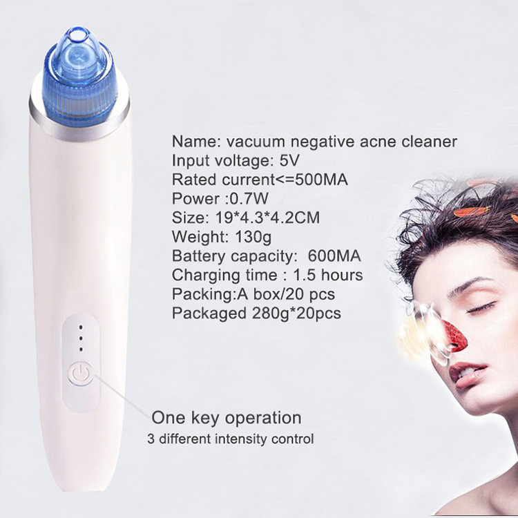 Remover Blackhead Removal Facial Pore Cleaner Acne Remover Tool Machine Minimize clogged pores