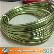 18 Guage Round colored aluminum wire,aluminum colored wire