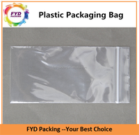 Recyclable Clear Plastic Packaging Ziplock Bag For Sugar