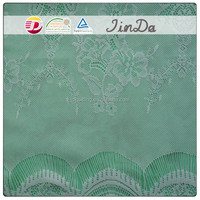 Embroidery net super soft allover lace fabric with various design