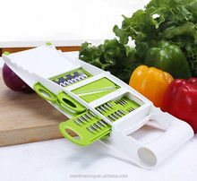 Slicer with 4 Interchangeable Stainless Steel Blades -Vegetable Cutter Peeler Slicer Grater