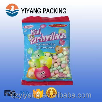 nut/sea food packing use 3 side sealed pouch
