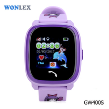 2017 mobile tracking software smart wrist sos panic button waterproof kids watch gps