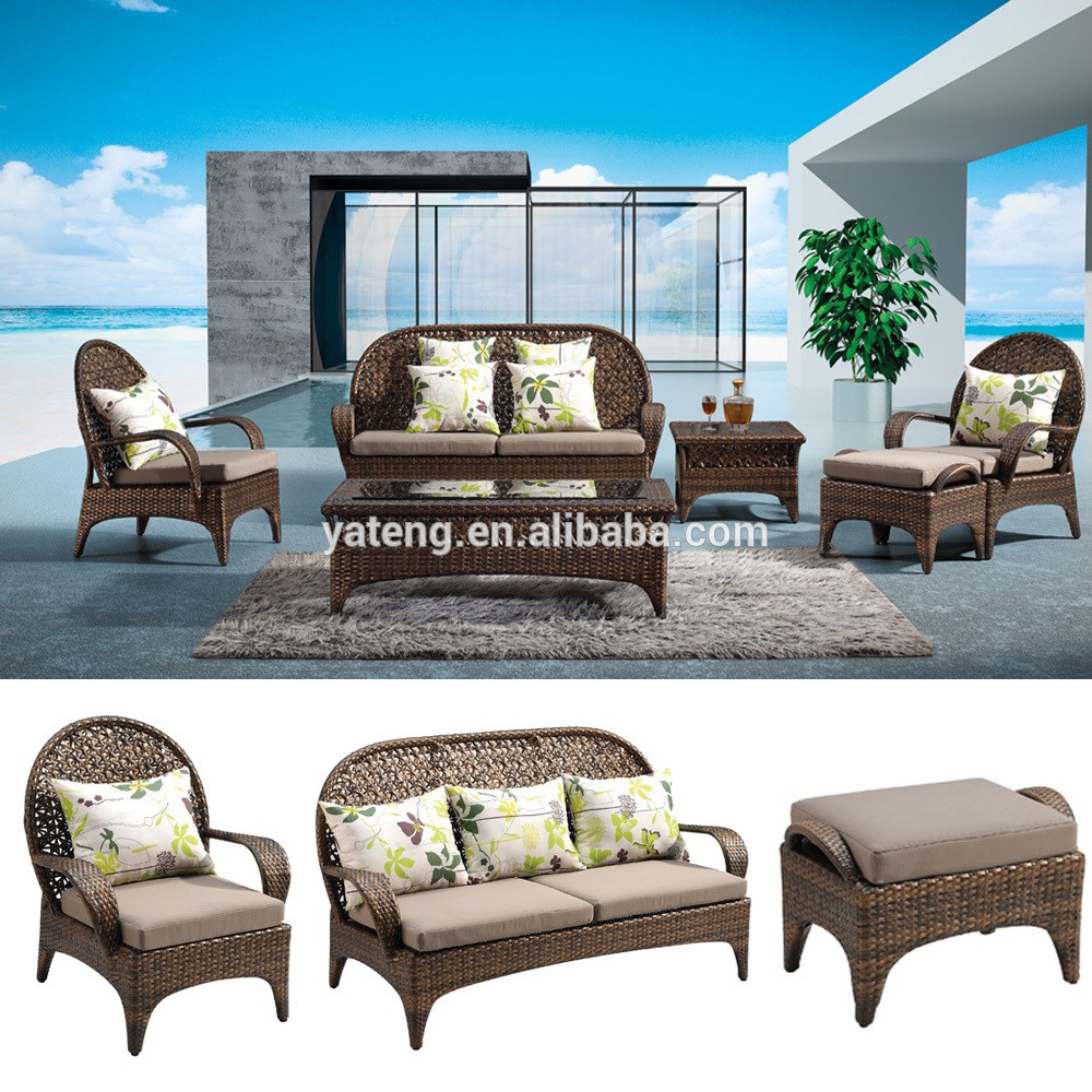 More designs Best price wicker outdoor table and chair for 2 set Costa