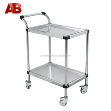 hospital instrument trolley with removable trays